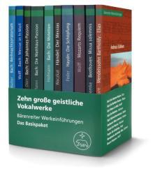 10 große geistliche Vokalwerke Werkeinführungen (Basispaket)