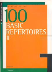 100 Basic Repertoires vol.2 (nos.66-100) for classical guitar