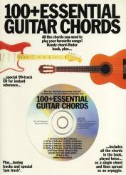 100+ Essential Guitar Chords (+CD)