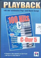 100 Hits in C-Dur Band 5 6 Playback-CD's