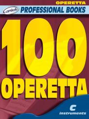 100 operettas for c instruments text, melody line and chord symbols (it)