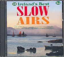 110 Ireland's best Slow Airs 2CD'S Airs from old Gaelic songs, O'Carolan compositions