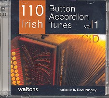 110 Irish Button Accordeon Tunes vol.1 2 CD's