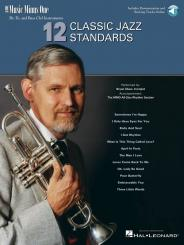 12 classic Jazz Standards (+2 CD's) for Eb, Bb and bass clef instruments