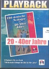140 deutsche Schlager der 20-40er Jahre 6 CD's (Playbacks)