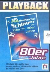 140 deutsche Schlager der 80er Jahre 4 Playback-CD's