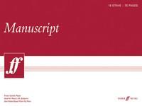 18 Stave 75 Pages DIN A3 Manuscript Paper