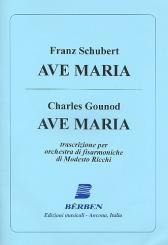 2 Ave Maria per orchestra di fisarmoniche, partitura e parti