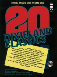 20 Dixieland Classics (+CD) for trombone