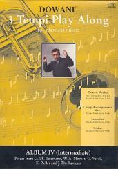 3 Tempi Playalong CD  Album 4 intermediate pieces, Orig. und Klavierbegleitung in 3 Tempi