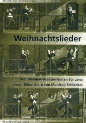 3 Weihnachtslieder-Suiten für 2 4-stimmige Bläserchöre, Kapellchor-Partitur