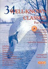 34 wellknown classics (+CD) für Oboe