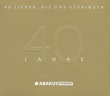 40 Jahre Abakus - 40 Lieder die uns verbinden 2 CD's