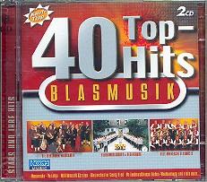 40 Top Hits Blasmusik 2 CD's