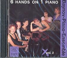 6 Hands on 1 Piano vol.2 CD Baynov Piano Ensemble