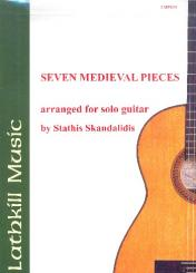 7 medieval Pieces for guitar