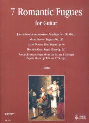 7 Romantic Fugues for guitar