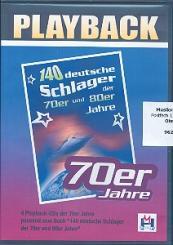 70 deutsche Schlager der 70er Jahre 4 Playback-CD's
