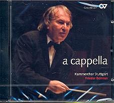 A cappella CD Kammerchor Stuttgart, Frieder Bernius