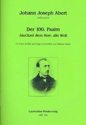 Abert, Johann Josef: Jauchzet dem Herrn alle Welt für gem Chor und Orgel, Partitur