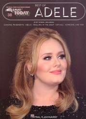 Adele (Blue Adkins, Adele Laurie): Best of Adele: for keyboard (organ/piano), EZ play today vol.38