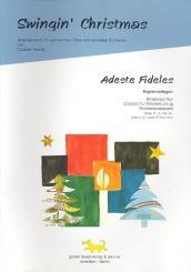 Adeste fideles für gem Chor und flexibles Ensemble, Kopiervorlagen