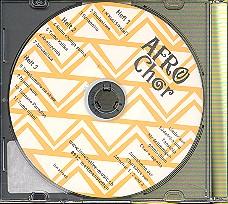 Afrochor CD zu Band 1, 2 u. 3 Lieder aus Südafrika und Tansania, für 4stg. Chor a cappella