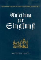 Agricola, Johann-Friedrich: Anleitung zur Singkunst