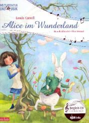 Albrecht, Henrik: Alice im Wunderland (+CD) ein musikalisches Bilderbuch