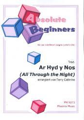 All through the Night für variable Besetzung (sehr leicht), Partitur und Stimmen