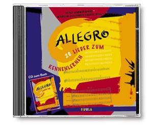 Allegro CD (Auswahl 26 Lieder)