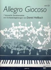 Allegro giocoso (+CD) für Klavier