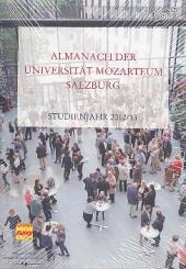 Almanach der Universität Mozarteum Salzburg Studienjahr 2012/2013