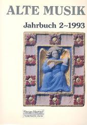 Alte Musik Jahrbuch 2/1993