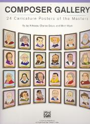 Althouse, Jay: Composer Gallery 24 Caricature Posters of the Masters