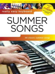 AM1013056 Summer Songs (+Soundcheck): for really easy keyboard (with lyrics and chords)