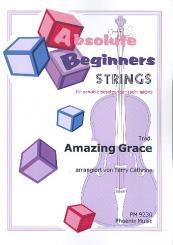 Amazing Grace für variable Besetzung (sehr leicht), Partitur und Stimmen