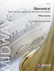 AMP469-140 Slavonica for woodwind ensemble, score
