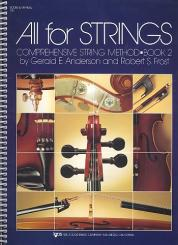 Anderson, Gerald E.: All for Strings vol.2 score and manual