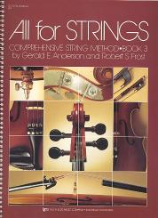 Anderson, Gerald E.: All for Strings vol.3 score and manual