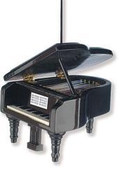 Anhänger Klavier Christbaumschmuck 7,62 cm, (Verpackungseinheit 6 Stück)