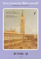 Antegnati, Constanzo: Venezianische Bläsermusik Band 1 2 Kanzonen a 4 für Bläser, Partitur und 23 Stimmen