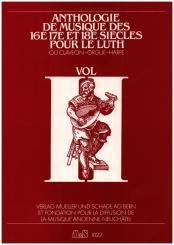 Anthologie de Musique de 16e, 17e et 18e siècles vol.2 pour luth