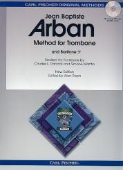 Arban, Jean Baptiste: Method (+MP3+PDF) for trombone and baritone (bass clef)