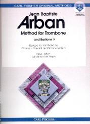 Arban, Jean Baptiste: Methode (+MP3 +PDF) for trombone (baritone bass clef), spiral bound