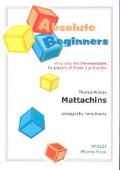 Arbeau, Thoinot: Mattachins für variable Besetzung (sehr leicht), Partitur und Stimmen