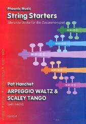 Arpeggio Waltz  und  Scaley Tango für variabel Streicherbesetzung, Partitur und Stimmen