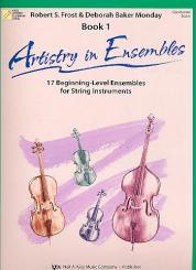 Artistry in Ensembles vol.1 for string ensemble conductor score