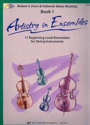 Artistry in Ensembles vol.1 for string ensemble viola