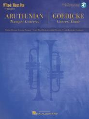 Arutjunjan, Alexander: Music Minus One b flat Trumpet (+CD) Trumpet concerto (Arutjunjan) and, Concert Etude (Goedicke)